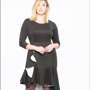 Gorge Hi Lo Drama Ruffle Dress 💗‼️